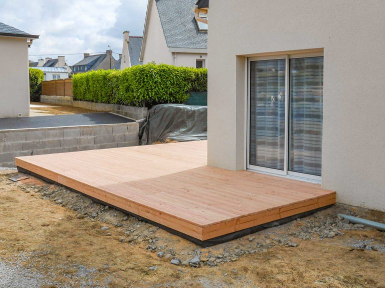 Terrasse sur mesure